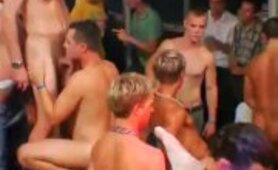 Gay guys in groups and bareback interracial