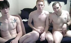 Straight Boy With Gay Couple
