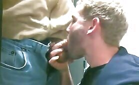 me sucking a strangers cock in the school library